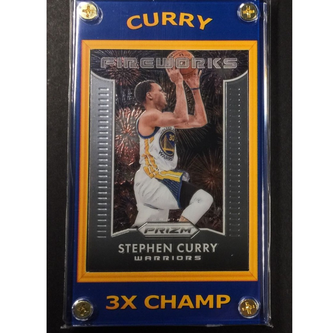 d5ae969572a Stephen Curry SportsCard - Golden State Warriors Point Guard
