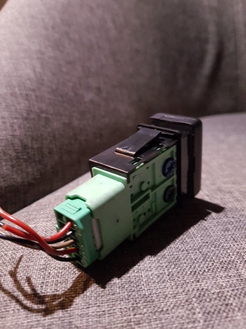 Suzuki Swift Fog Light Switch