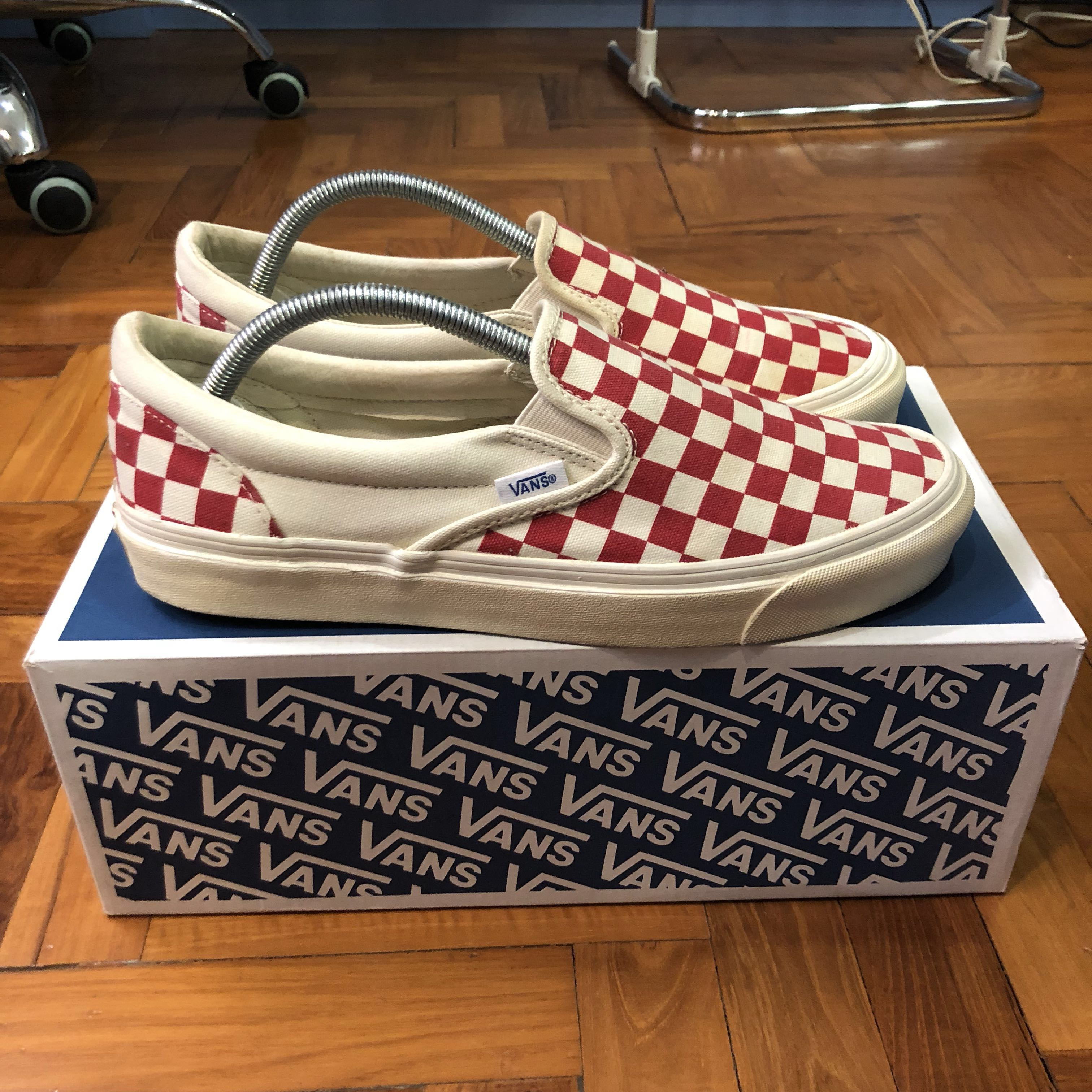 9244f6f7e3 Vans Vault OG Classic Slip on Lx checkerboard