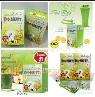 泰國人氣酵素飲品DONUTT高纖維酵素