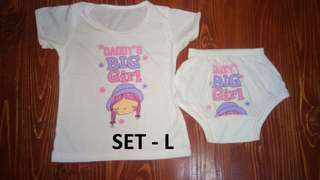 Terno Blouse/Panty and Sando/Shorts Designs - (Large)