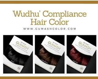 🚚 🎀P.O GUMASH Wudhu' Compliance Hair Color🎀