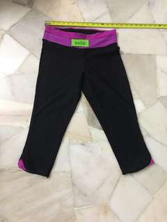 Sports brand 3/4 pant size 14 no 6458