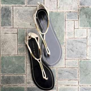 [7] Charles & Keith Casual Sandals