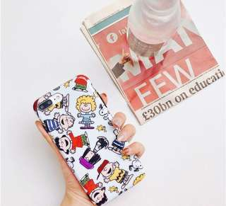 PO: Iphone Snoopy cover