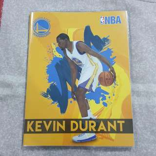 Replica Brand New NBA Kevin Durant Golden State Warriors Notebook
