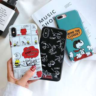 PO: Iphone Snoopy phone cover