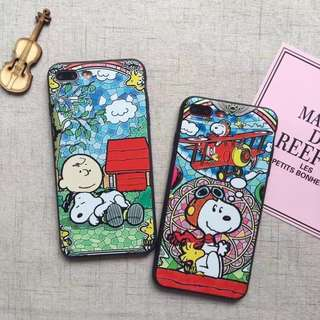 PO: Snoopy Charlie Brown iphone cover