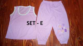 Terno Sando with Pajamas Designs - (Large)