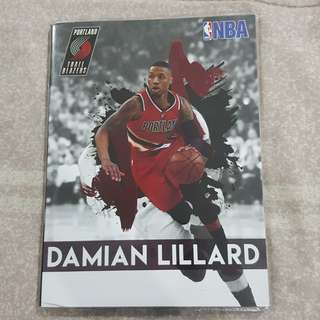 Replica Brand New NBA Damian Lillard Portland Trail Blazers Notebook