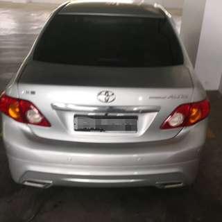 Toyota Corolla Altis 1.8 G Sedan