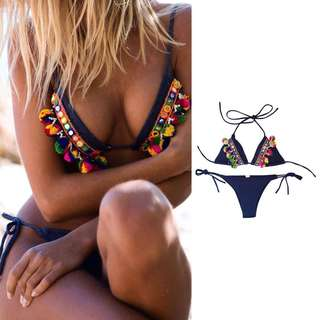 BNEW • Boho Swimsuit Bikini