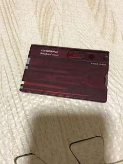 瑞士萬用卡
