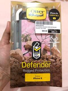 ORIG OTTERBOX DEFENDER SERIES (SPECIAL REAL TREE DESIGN)FOR 6/6s