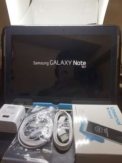 SAMSUNG GALAXY NOTE 10.1.. with sim 16gb.15mp.cam. Full all.
