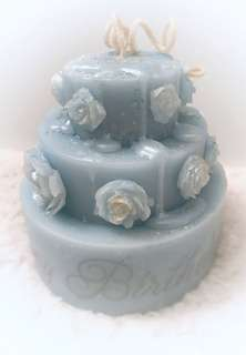Custom Scented Cake Candle