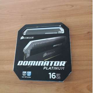 Corsair Dominator Platinum 16gb (8gbx2) 2400mhz