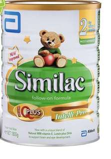 Similac Stage 2 (exchange with nan 2/3)