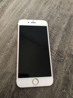 Unlocked iPhone 6s, rose gold 32gb
