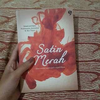 Satin Merah novel indo