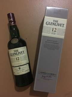 The Glenlivet 12 Years 700ml - Single Malt Scotch Whisky