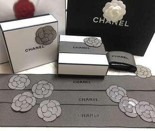 Chanel ribbon decorations
