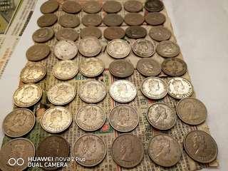 香港大餅一元1960 1971 1972 1973 1975  有些是雙層 雙邊 圖3 9@1