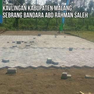 Tanah Kavling Sebrang Bandara Malang Harga 45 Juta Siap Bangun