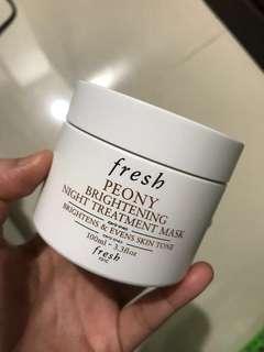 FRESH PEONY BRIGHTENING TREATMENT MASK