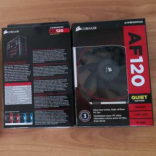 Corsair AF120 Quiet Edition Twin Pack