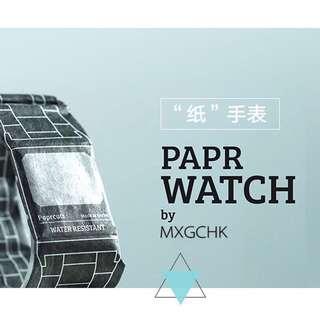 限時優惠$99!新型韓版LED防水紙質手錶創意黑科技!