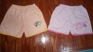 Shorts Designs for Baby Girl - (Large)