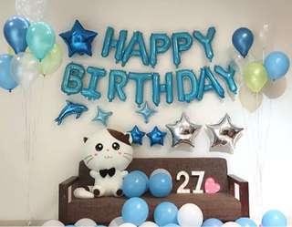 🚚 Happy Birthday Balloon set (INSTOCK)