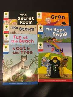 Oxford reading tree (total 7 books)