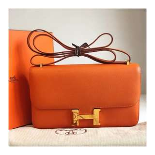 Authentic Hermes Constance Elan 24