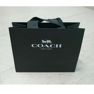 Hard Paper Bag - Coach