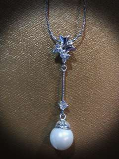 Pearl & Diamond necklace (Fashion)