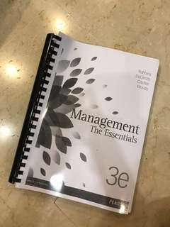 BRAND NEW Introduction To Management Textbook SIM RMIT