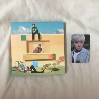 EXO CBX BLOOMING DAYS DAY VERSION ALBUM with PC