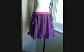🚚 POUPINE 法國娃娃 俏麗 荷葉雪紡裙