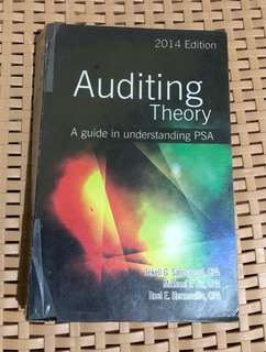 Audting Theory: A guide in Understanding PSA 2014 Edition