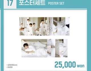 Wanna one pop up store poster set