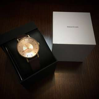 Klasse14 VOLARE ROSE GOLD BROWN 36MM 手錶watches
