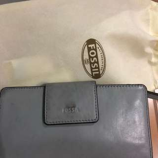 Fossil Grey Wallet