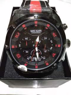 Jam Tangan MEGIR ML 2076 G Model Terbaru