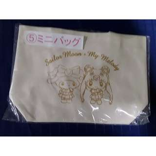 Sailormoon X My Melody lucky draw small bag
