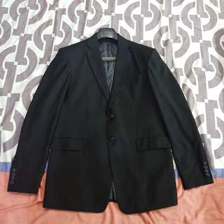 New formal coat suit men M medium size set black