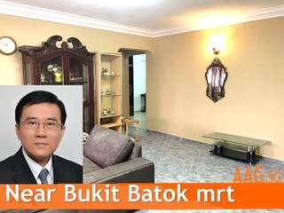 104 bukit batok, 3-bedroom, walk to bukit batok mrt
