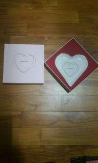 PANDORA Heart Shaped Porcelain Jewellery Dish