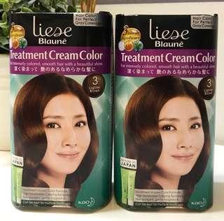 [$10 each] Liese Blaune Treatment Cream Color